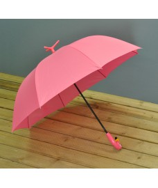 Pink flamingo Umbrella by Fallen Fruits