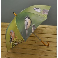 Bird Print Umbrella (Songbird) by Fallen Fruits