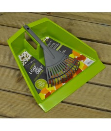 Leaf Collection Dustpan & Rake by Burgon & Ball