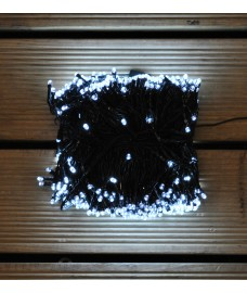 720 LED White Supabright String Lights (Mains) by Premier