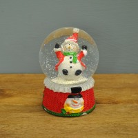 Snowman Christmas Snow Globe (8cm) by Kingfisher