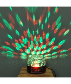 LED Crystal Ball Projector Party Light by Premier