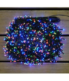 1500 LED Multi-Coloured Treebright String Lights (2.4m Tree) by Premier