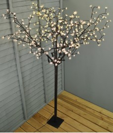 210cm Osaka 400 LED Light Tree (Mains) by Premier