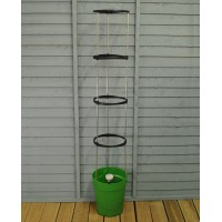 Self Watering Grow Pot Tower in Green by Garland