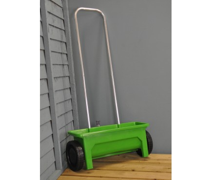 Lawn Drop Spreader for Seed and Fertiliser (12 Litre Capacity)