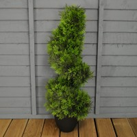 Artificial Topiary Twirl Tree (80cm) by Smart Garden