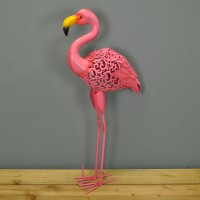 Silhouette Flamingo Light Garden Sculpture (Solar) by Smart Garden