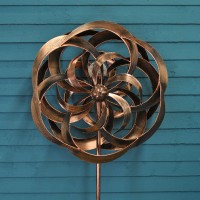 Taurus Windspinner Crackle Ball Globe Light (Solar) by Smart Solar