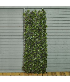 Artificial Maple Leaf Expanding Trellis (180cm x 60cm) by Smart Garden