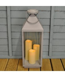 Oslo Battery Operated Candle Lantern by Smart Solar