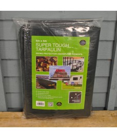 Super Tough Tarpaulin (5m x 4m) by Garland