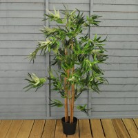 Artificial Bamboo Topiary Tree (120cm) by Gardman