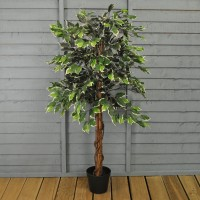 Artificial Ficus Topiary Tree (120cm) by Gardman