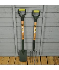 Gardener's Mate Steel Border Spade & Fork Set