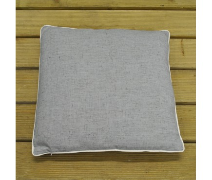 Charcoal Grey Scatter Cushion by Premier