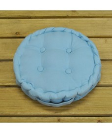 Blue Round Seat Pad by Premier