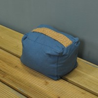 Midnight Blue Door Stop by Premier