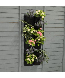 Set of Two Vertical Hanging Garden Wall Planter Kits