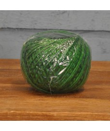 Ball of Green Jute Twine (125m) by Kingfisher