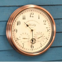 Henley Wall Clock & Thermometer by Smart Garden