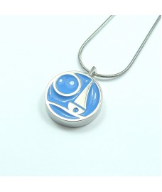 Blue Bay Pendant Necklace