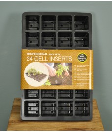 Seed Tray 24 Cell Insert (Pack of 5) by Garland