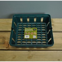 Pair of Rectangular Bulb Baskets (23cm) by Garland