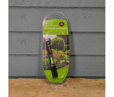 Black Waterproof Garden Marker by Garland