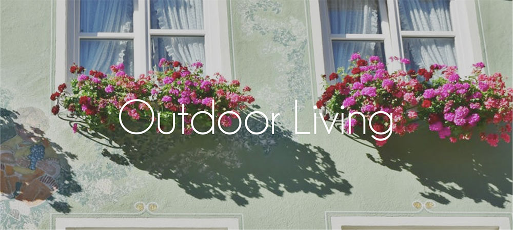 outdoor living section